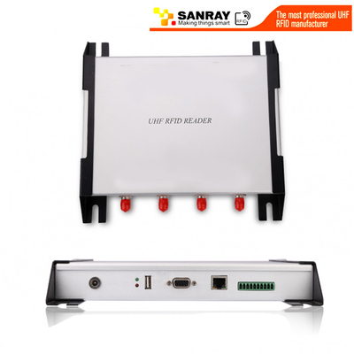 4 Port Impinj R2000 Chip Usb Uhf Rfid Reader For Warehouse Management / Access Control